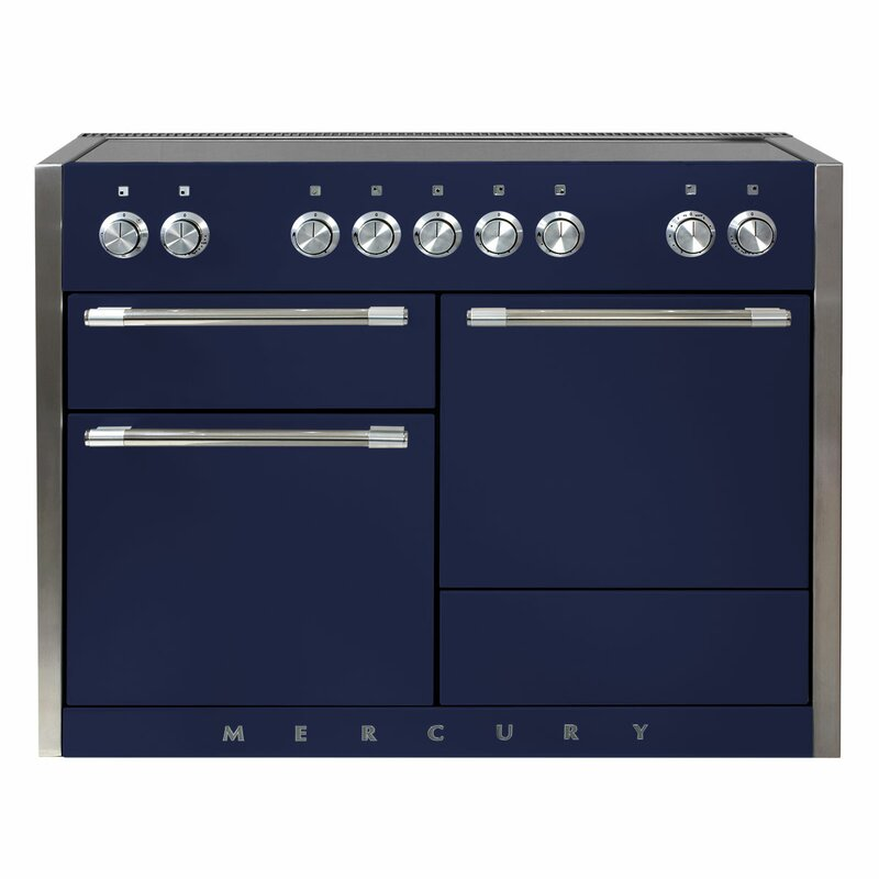 "AGA Mercury 48"" Free-Standing Electric Range  Finish: Midnight Sky"