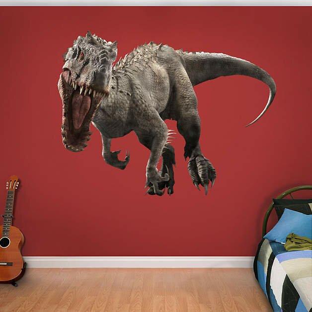 NBC Universal Indominus Rex - Jurassic World Peel and Stick Wall Decal