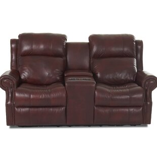Defiance Reclining Sofa with Headrest and Lumbar Support by Red Barrel Studio
