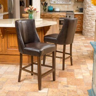 Cottonwood 26.5 Bar Stool (Set Of 2) by August Grove Great price