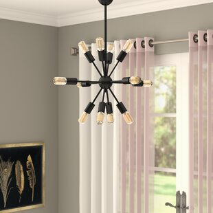 Mercury Row Biquele 12-Light Chandelier