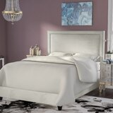 Hayley Upholstered Standard Bed by Everly Quinn