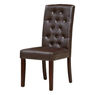 Charlton Home Borchardt Parsons Chair (Se..