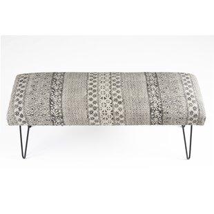 Union Rustic Rita Upholstered Bench