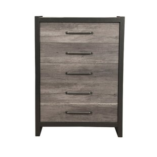 Foundry Select Boneta Spacious 5 Drawer Accent Chest