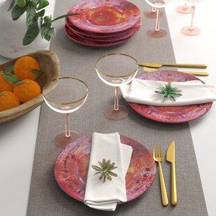 Breana Melamine Salad Plate (Set of 6)