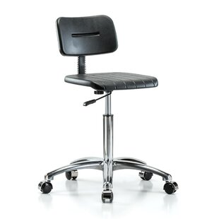 Perch Chairs & Stools Industrial Mid-Back Desk Chair