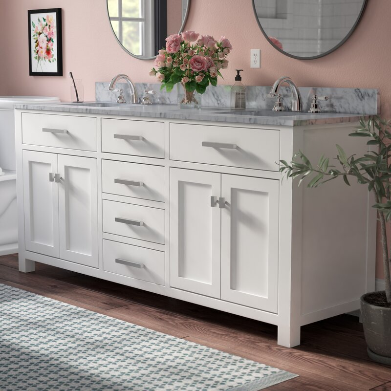 Water Creation Madison 72 Double Bathroom Vanity Set Reviews Wayfair