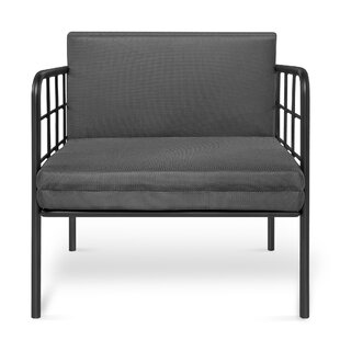 Riaan Patio Sofa with Cushions by Wrought Studio