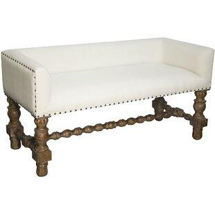 Noir Lagos Upholstered Bench
