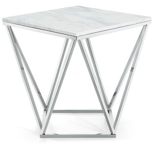 Reviews Robeson Marble End Table By Willa Arlo Interiors