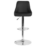 Glencoe Swivel Adjustable Height Bar Stool by Wrought Studio™