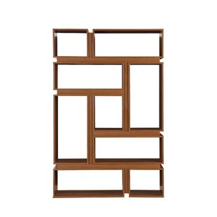 Amber Geometric Bookcase