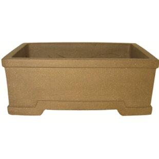 Bonsai; Dish Garden; Ceramic Planter; Approx 6L x 5w x 2.5h; Earthy Glaze; FREE SHIPPING !!!