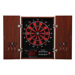 Viper Neptune Dartboard and Cabinet Set By GLD Products