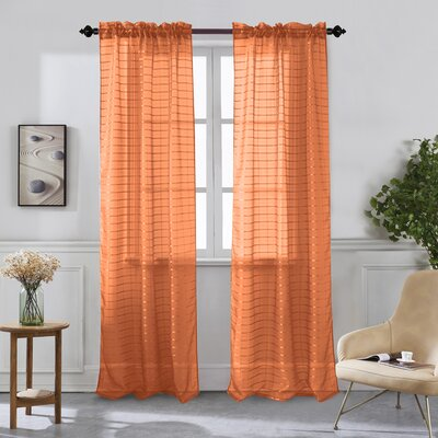 Salmon Colored Curtains Wayfair