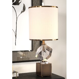 Find a Carl Crystal Cube 30 Table Lamp By Rosdorf Park