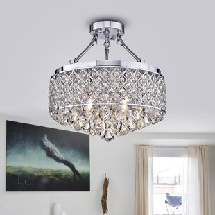 Bronaugh 4-Light Semi Flush Mo..
