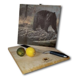 No Trespassing Bear 12 x 12 Cutting Board By WGI-GALLERY