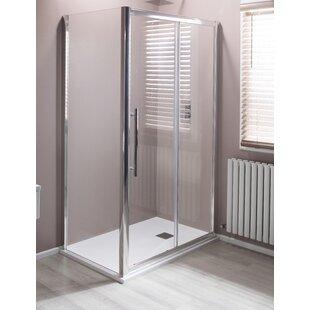 Sliding Framed Shower Door by Cassellie