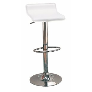 Wooster Backless Seat Adjustable Height Swivel Bar Stool (Set of 2) by Orren Ellis