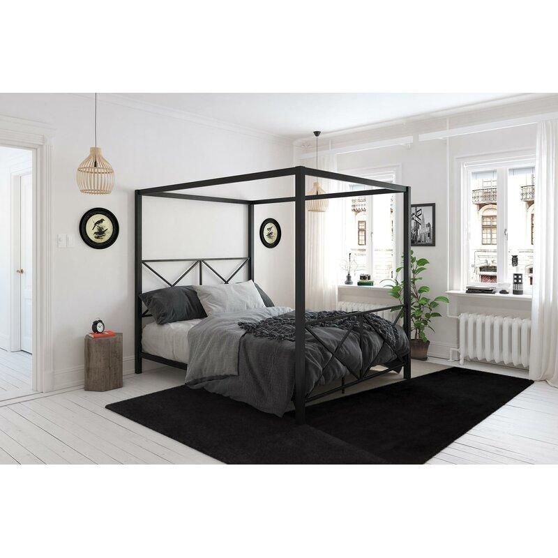 Willa Arlo Interiors Gilma Canopy Bed Reviews Wayfair