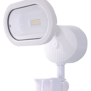 14-Watt LED Outdoor Security Flood Light with Motion Sensor by Nuvo Lighting