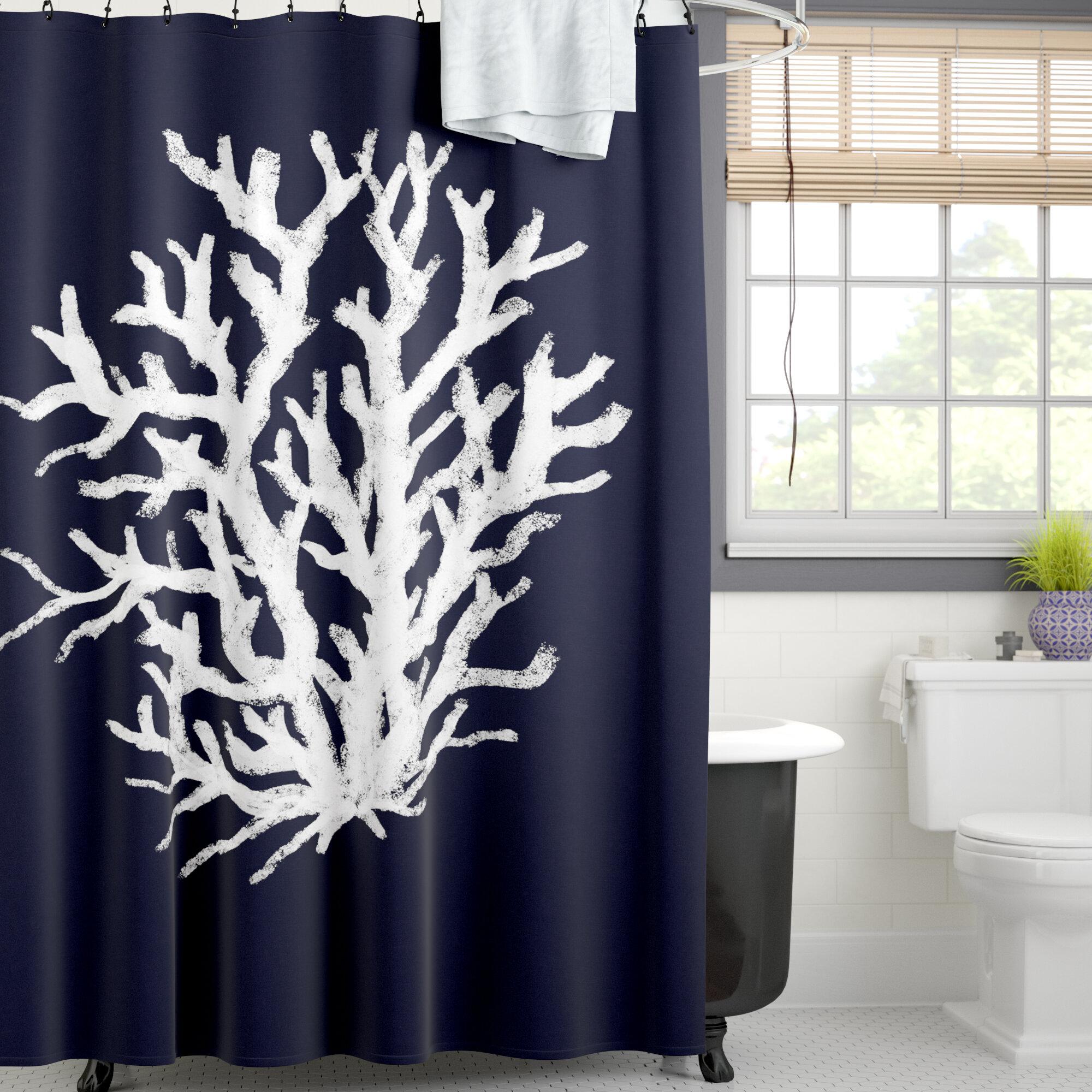 Beachcrest Home Fairhill Single Shower Curtain Wayfair Ca