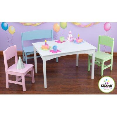 Incroyable Nantucket Kids 4 Piece Table And Chair Set. By KidKraft