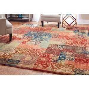 Kopstal Red Area Rug