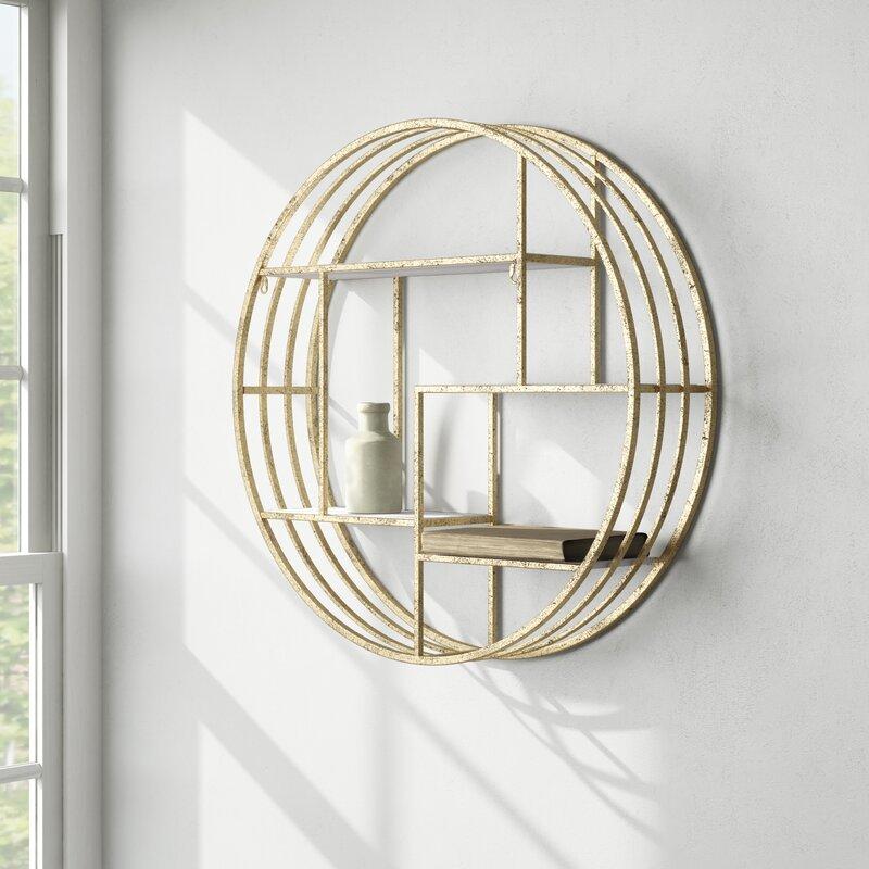 Kittle 4 Piece Circle Accent Shelf