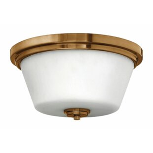 Latitude Run Hollifield Bath 2-Light Flush Mount