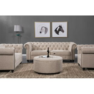 Eulalie 2 Piece Standard Living Room Set