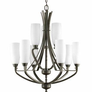 Red Barrel Studio Charleston 9-Light Shaded Chandelier