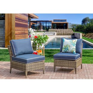 Southam Outdoor 2 Piece Sectional Seating Group with Cushions