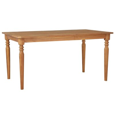 Kelliher Wooden Dining Table by August Grove Fresh