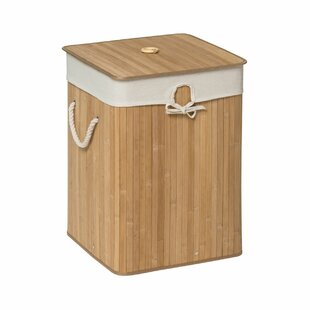 Square Laundry Bin With Lid By Brambly Cottage