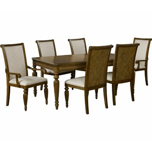 Amalie Bay 7 Piece Extendable Solid Wood Dining Set by Broyhill?