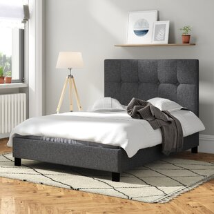 Seiano Upholstered Bed Frame By Wrought Studio