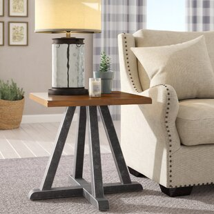 Waring Wood End Table by Gracie Oaks