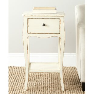 Waterfoot End Table by Beachcrest Home