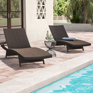 Ivy Bronx Coopersburg Chaise Lounge (Set of 2)