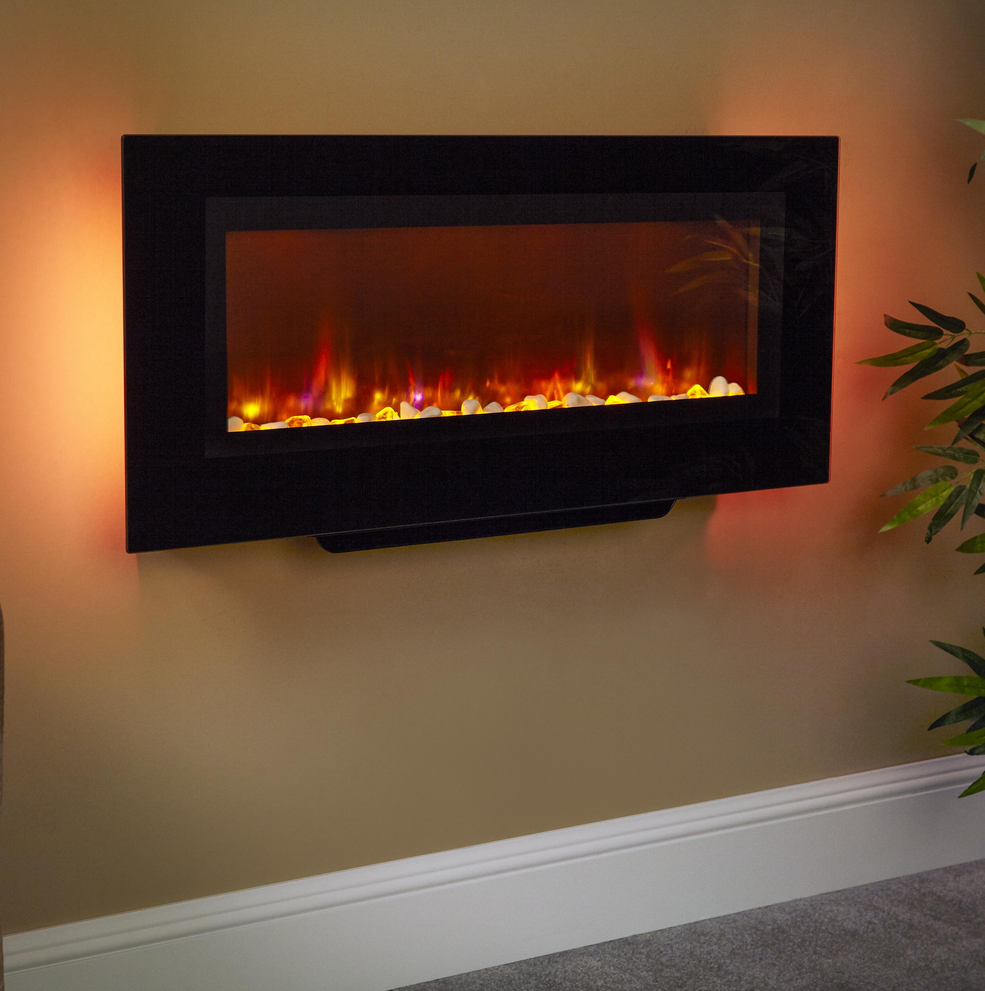 Santos Wall Mounted Electric Fire