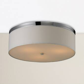 Latitude Run Attila 3 Light 20 75 Flush Mount Wayfair