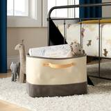 Tub Storage Bin Leather Handle by Harriet Bee
