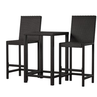 Corlane 3 Piece Bar Height Dining Set