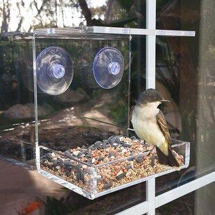 Vandue Corporation OnDisplay Window Mounted Tray Bird Feeder