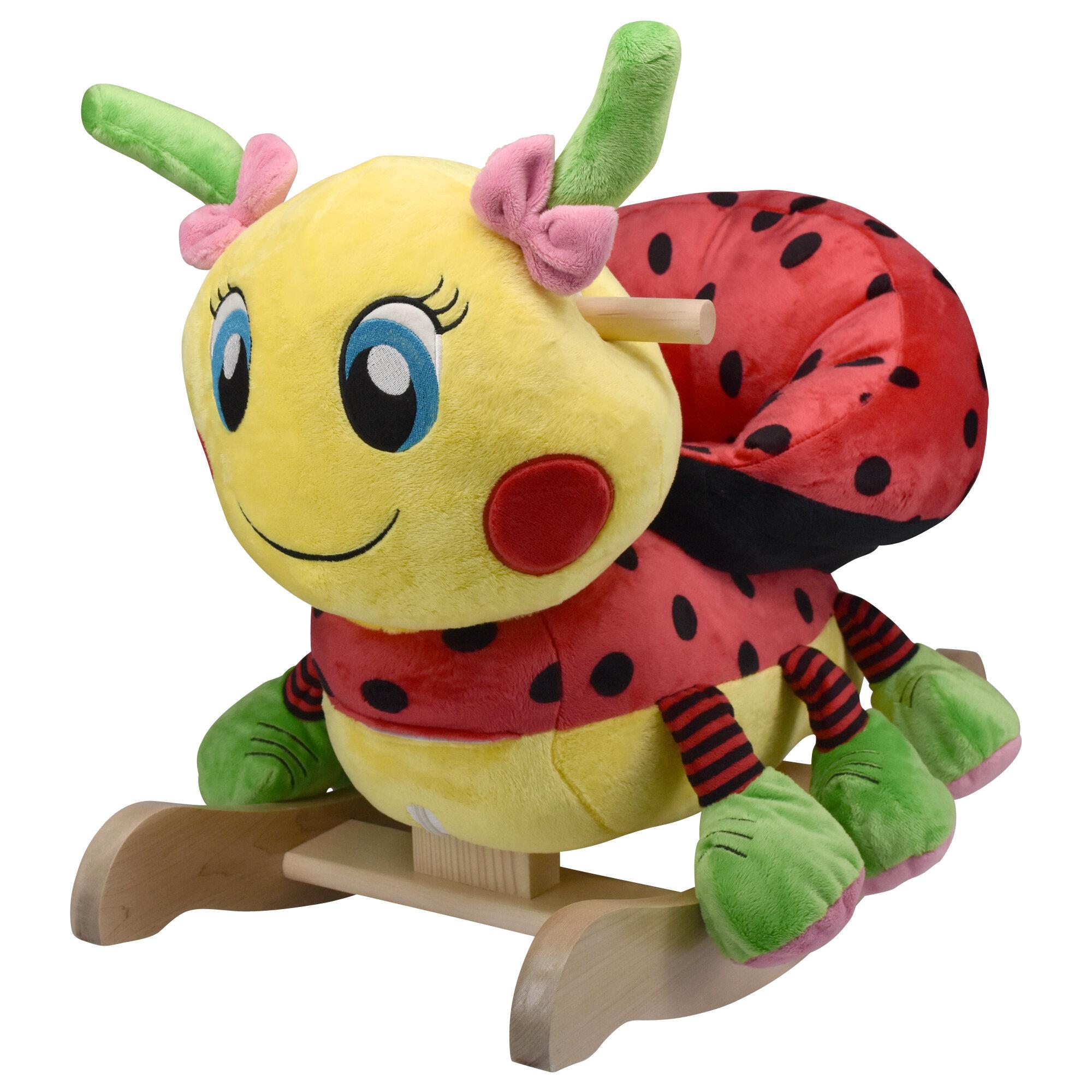 Rockabye Lulu Ladybug Rocker & Reviews | Wayfair