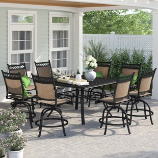Curacao 9 Piece Counter Height Dining Set