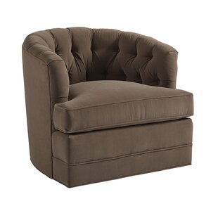 Cliffhaven Swivel Barrel Chair by Barclay..